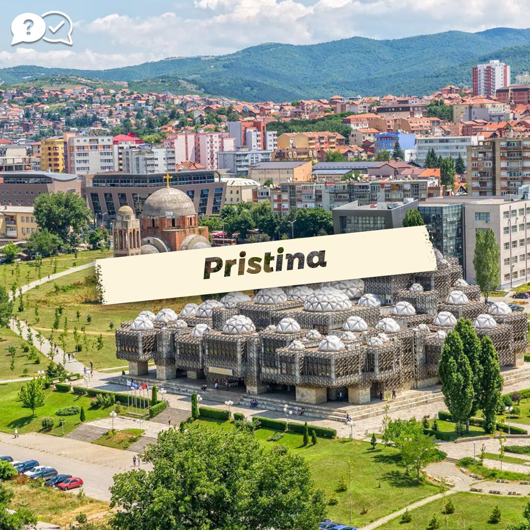 Pristina, Capital of Kosovo