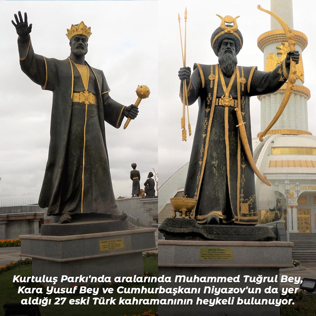 Allamberdar Mausoleum is one of the biggest mausoleums of Turkmenistan.